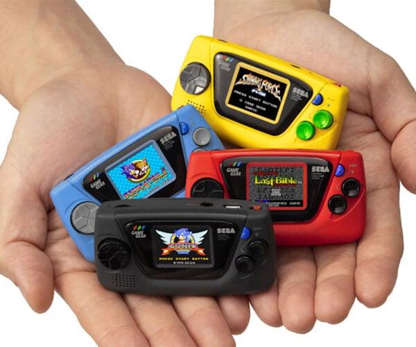 SEGA Game Gear Micro Is a Ludicrously Tiny Retro Handheld