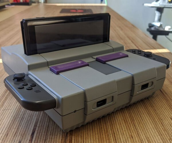 This SNES Is Now a Nintendo Switch Dock