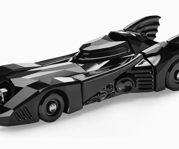 Swarovski Crystal Batmobile Based Shows New Facets of Tim Burton's Batman
