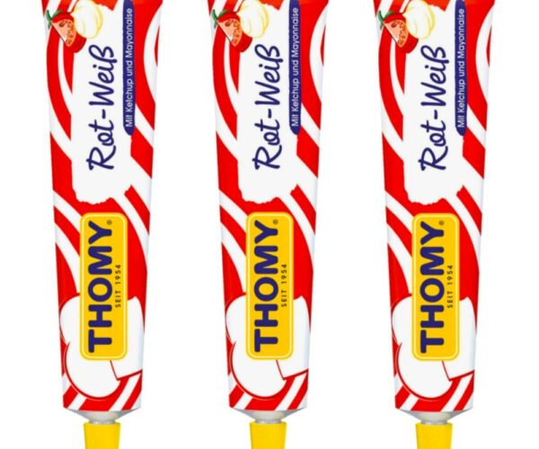 Thomy Rot-Weiß Is Ketchup and Mayonnaise Packaged Like Toothpaste