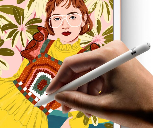Apple Pencil Patent Hints at Real World Color Sampling
