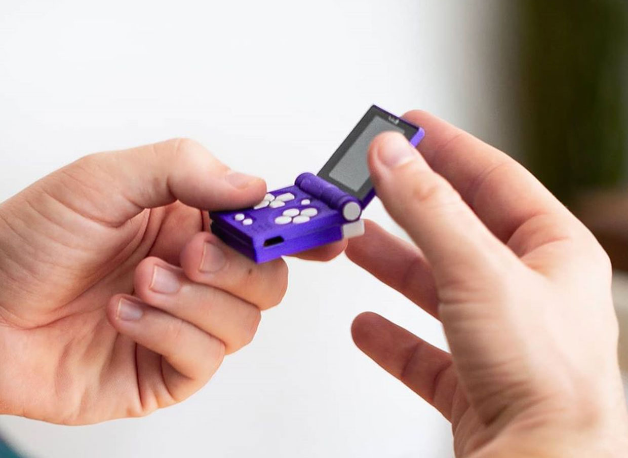 The FunKey S Is the Smallest Handheld Gaming System We've Ever Seen