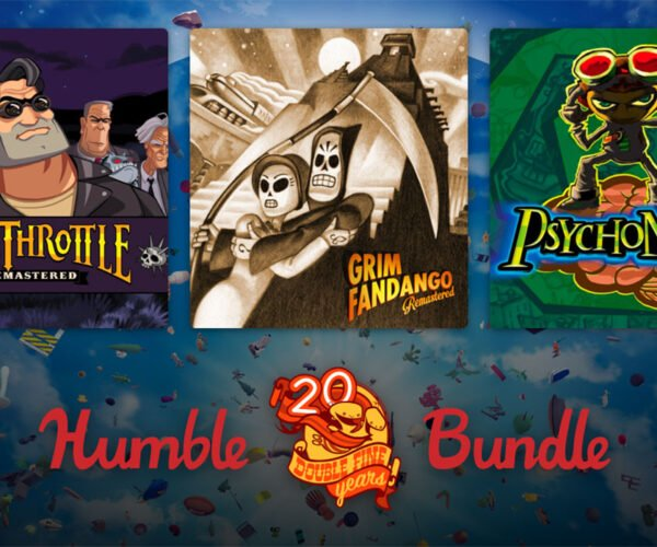 Humble Double Fine 20th Anniversary Bundle Is Packed with Awesome Games