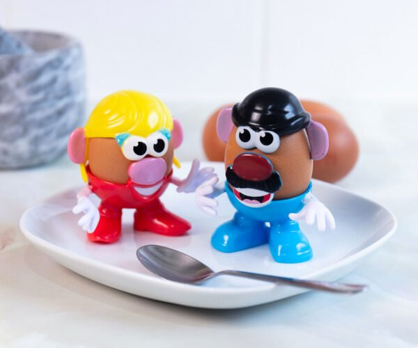 Mr. and Mrs. Potato Head Egg Cups Are All They're Cracked Up to Be
