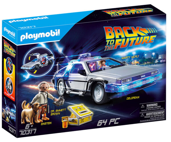 There's a Back to the Future Playmobil Set