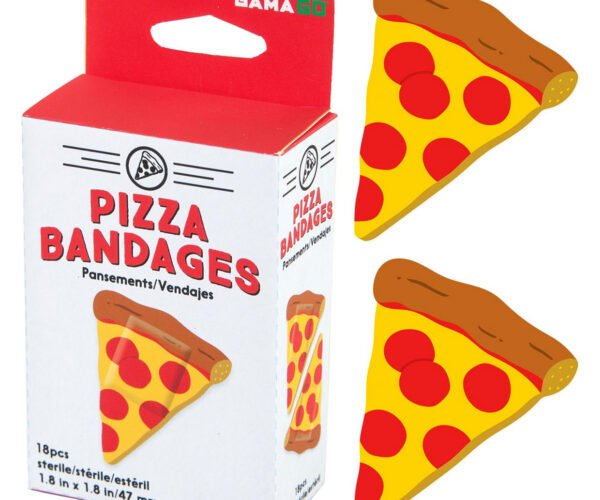 Dress Your Wounds with Pizza
