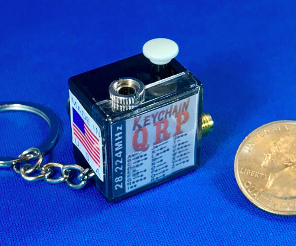 The World's Smallest Ham Radio Can Fit on a Keychain