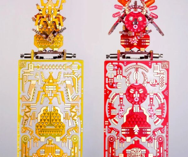 Printed Circuit Board Kits Turn into Magic Voodoo Robots