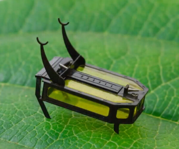 This Tiny Robot Beetle Runs on Methanol Instead of Electricity