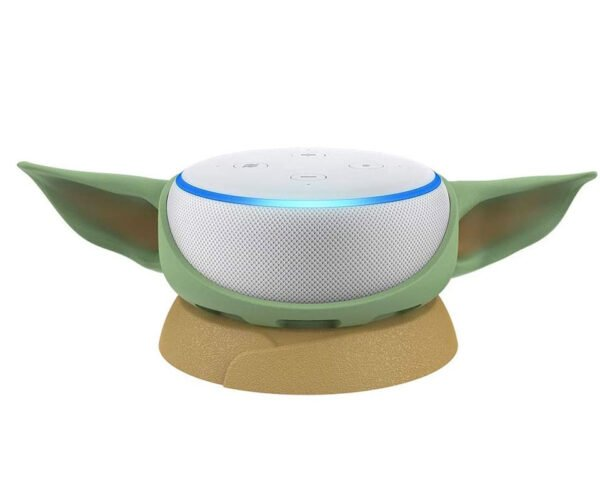 This Stand Turns Your Amazon Echo Dot into Baby Yoda