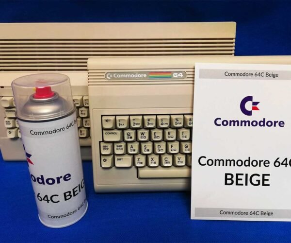 Commodore 64C Beige Paint Lets You Go Crazy with a Classic Computer Color