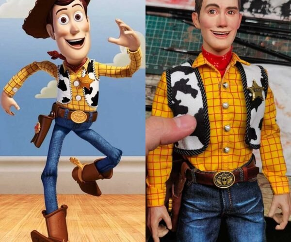 Artist Gives Us a Real Woody (from Toy Story)