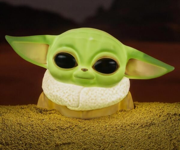 Baby Yoda Desktop Light Is Adorably Bright