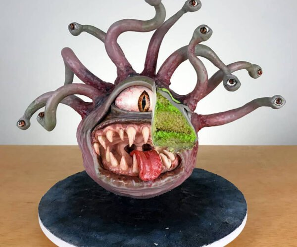 Beauty Is in the Eye(s) of this Beholder Cake