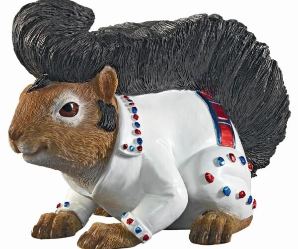 The Home Depot Sells an Elvis Squirrel Statue