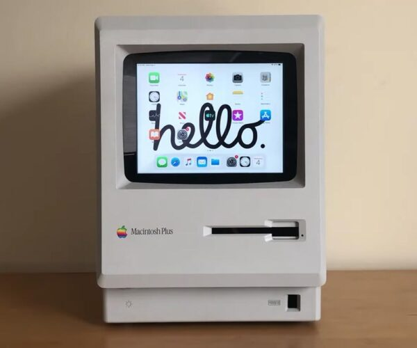 Modder Upgrades Vintage Macintosh with iPad Mini Brains