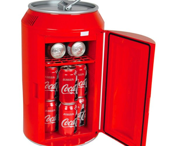 This Fridge Looks Like a Giant Coca-Cola Can