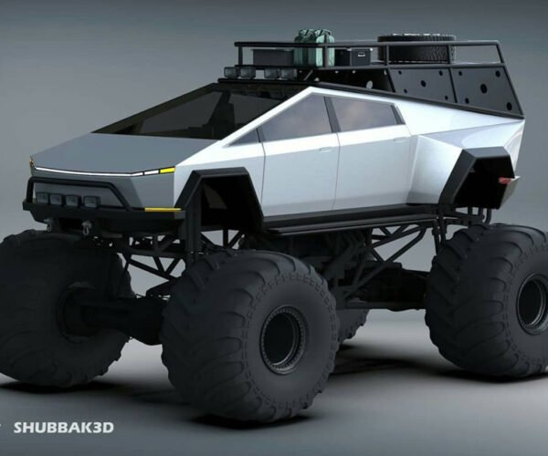 Tesla Monster Cybertruck Concept Looks Straight out of Damnation Alley