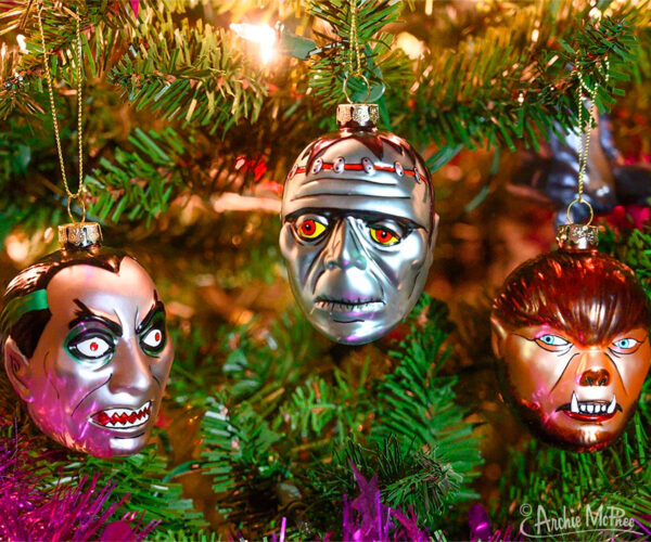 Classic Monster Ornaments Are Perfect for Your Nightmare Before Christmas