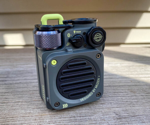 Muzen Wild Mini Bluetooth Speaker Review: Small But Mighty Good