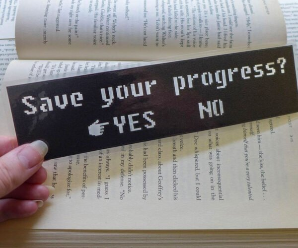 These Gamer Bookmarks Will Save Your Progress