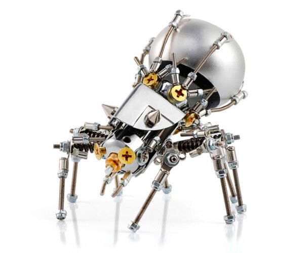 This Creepy Metal Spider Holds a Bluetooth Speaker