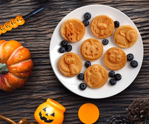 Spooky Friends Waffle Maker Brings Halloween to the Breakfast Table