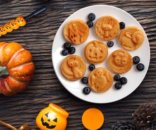 Spooky Friends Waffle Maker Brings Halloween to the Breakfast Table