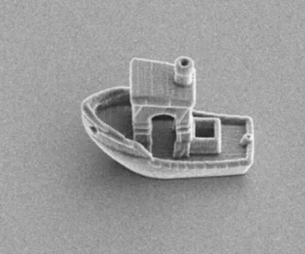 Physicists 3D Print a Boat Small Enough to Fit Inside a Human Hair