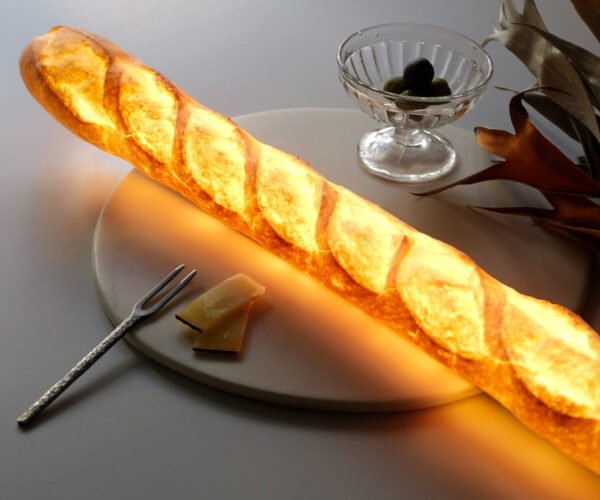 Pampshades, Lamps Made From Real Bread Loaves