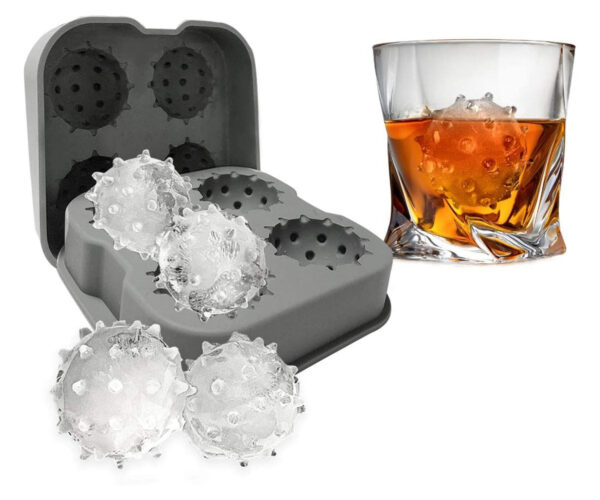 Coronavirus Shaped Ice Cube Molds Are an Actual Product