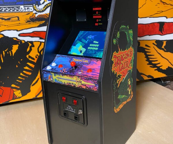 Dragon's Lair RepliCade Review: Tiny, Accurate, and Still Tough to Beat
