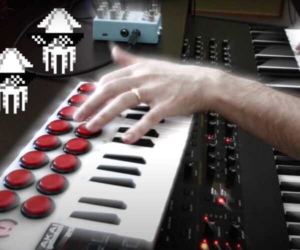 Guy Loops and Remixes Super Mario Bros. Underwater Theme Into Musical Madness