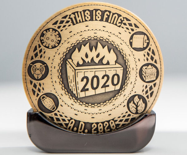A Commemorative Coin to Celebrate the End of 2020