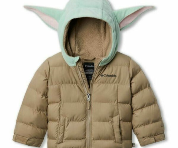 Columbia X Star Wars Mandalorian The Child Jacket: This Is the Way to Dress Your Tot