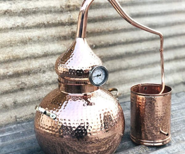 Make Your Own Moonshine With This Copper Still Starter Kit