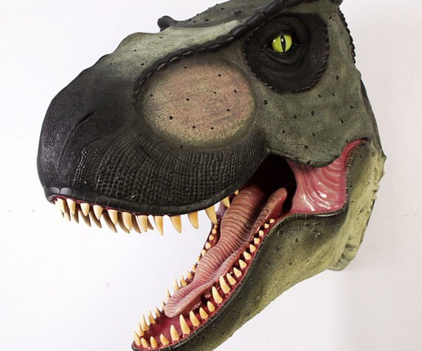 Mount a Life-size T-Rex Head Trophy on Your Wall
