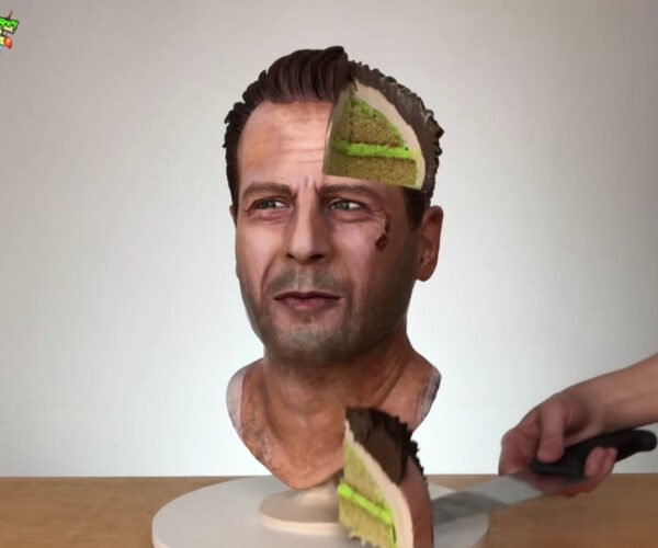 Die Hard's John McClane Gets Made into a Realistic Cake