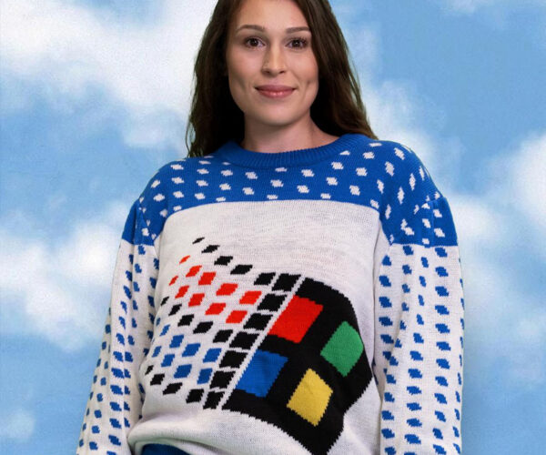 Microsoft Releasing Line of Ugly Holiday Sweaters