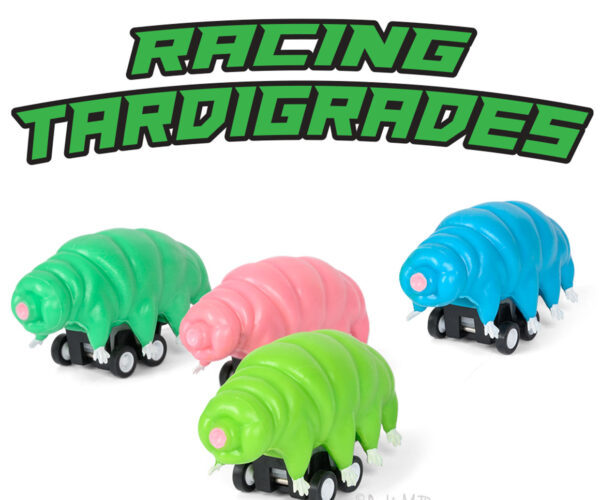 Formula 1 and NASCAR Look Out, It's Time for Racing Tardigrades