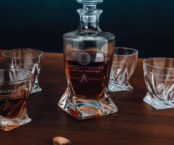 Star Trek: The Next Generation Whiskey Decanter Set