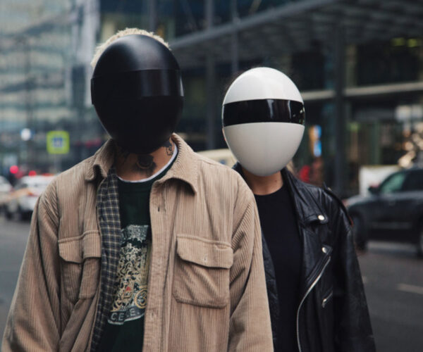 Blanc Full-Face Mask and HEPA Filter: If Daft Punk Made PPE