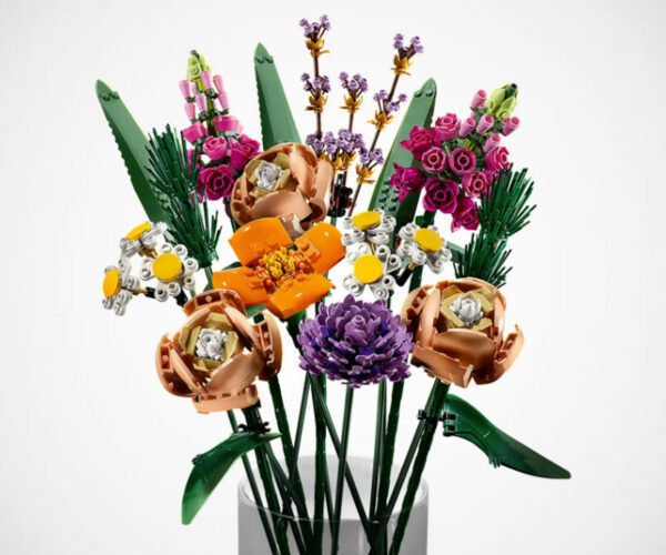 LEGO's Realistic Flower Bouquet Set: Stop and Smell the Plastic