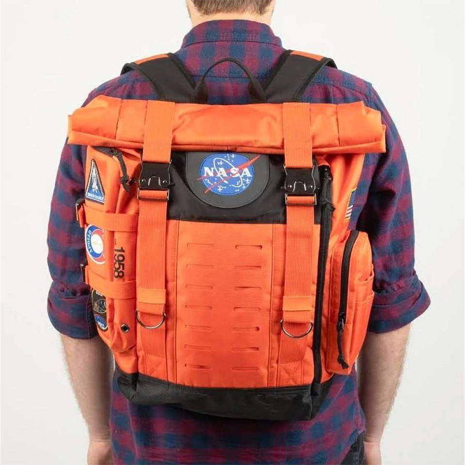 This NASA Flight Suit Backpack Is out of this World