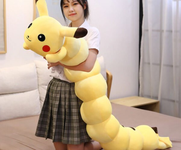 Pikachu Centipede Body Pillows: Gotta Catch 'Em Aaaaah!