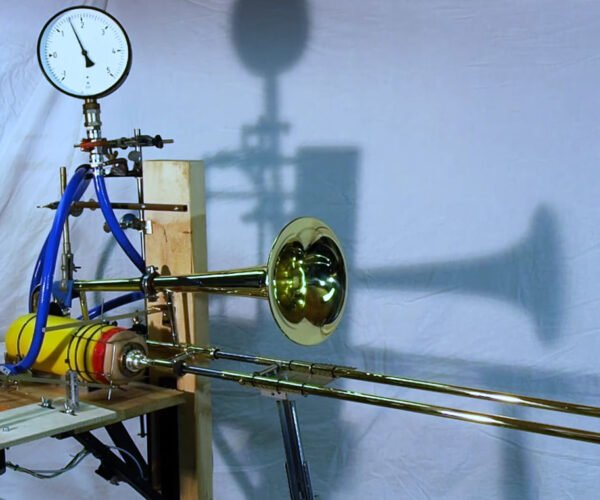 A Robotic Trombone Machine: For the Marching Band of the Future