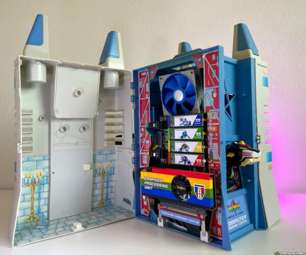 Voltron Castle of Lions PC Case Mod: Activate Interlock!