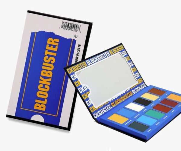 Blockbuster Video Inspired Eyeshadow Palette: For Browsing The New Releases