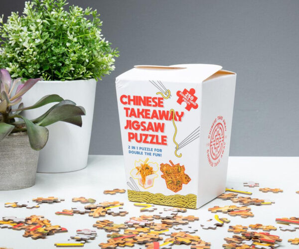 Chinese Take-Out Jigsaw Puzzle: Where's My Fortune Cookie?