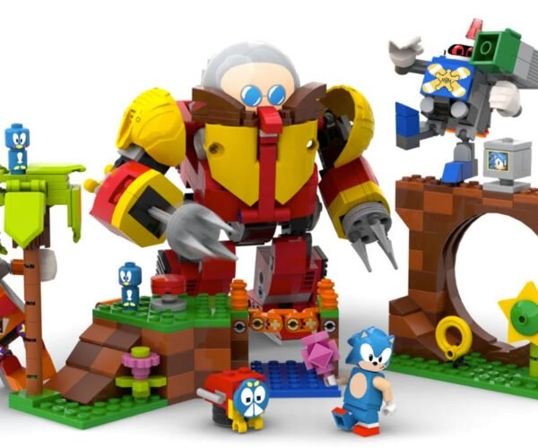 LEGO to Produce a Sonic the Hedgehog Playset: Start Saving Your Gold Rings